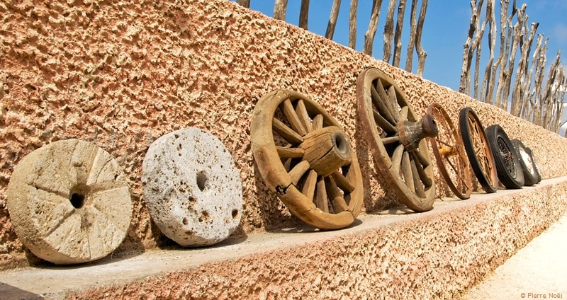 évolution de la roue, Crète