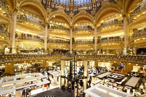 Paris, un grand magasin