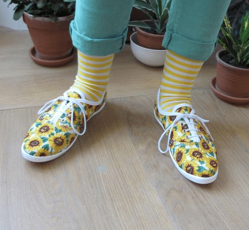 chaussettes-rayures