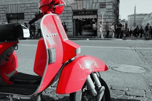 Le scooter Vespa