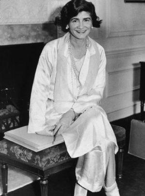 Le pyjama par Coco Chanel