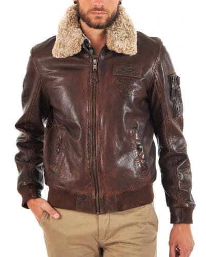 blouson style aviateur Redskins