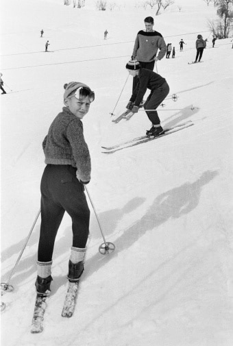 Station de ski en 1960. Source : Gettyimages