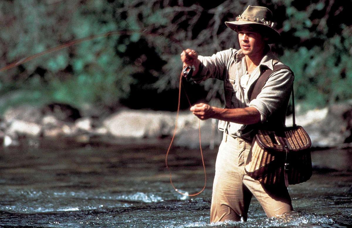 film et au milieu coule une rivière