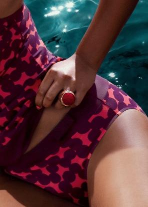 Exemple de slip taille haute de la marque Prima Donna