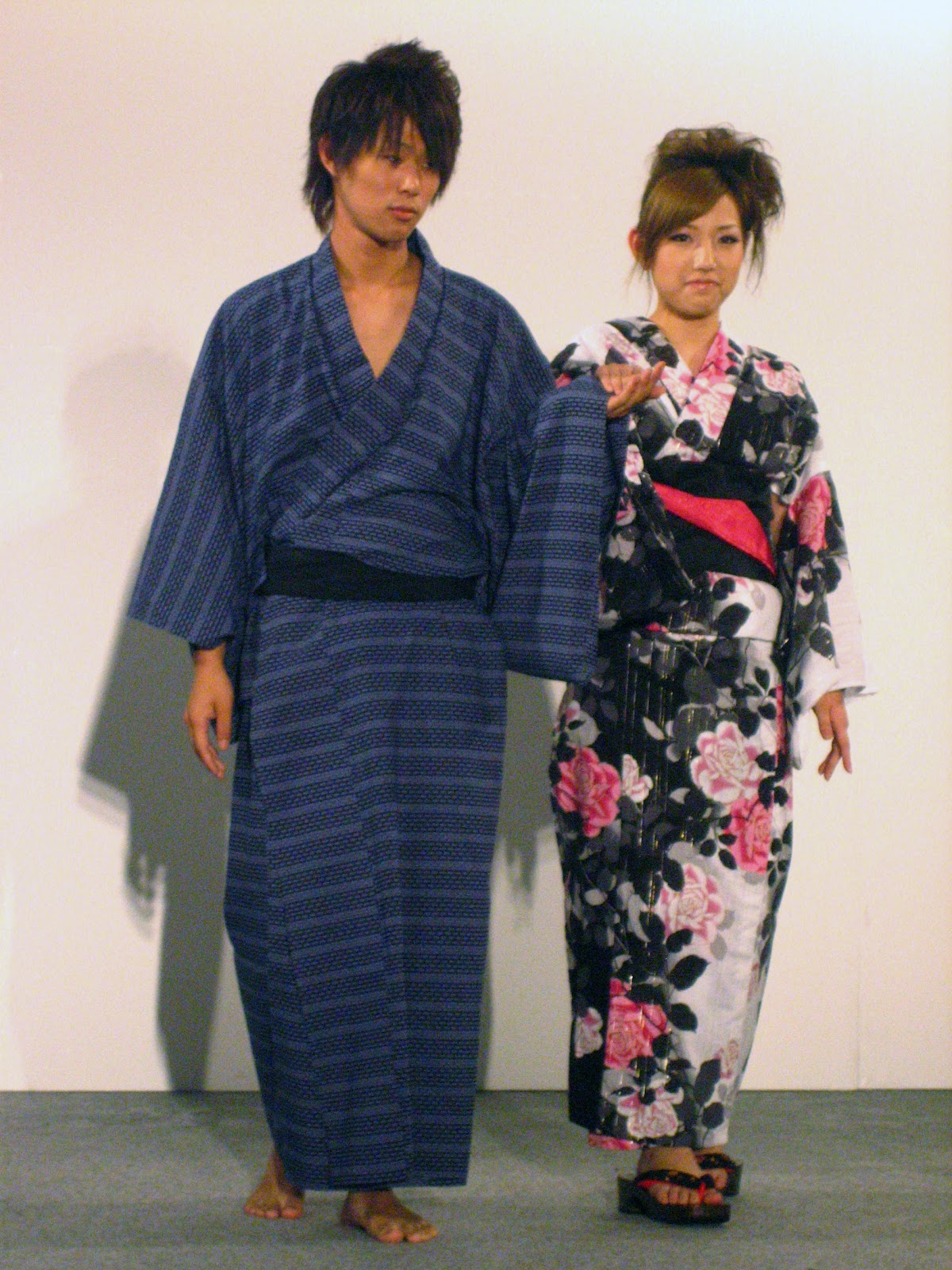 couple en yukata