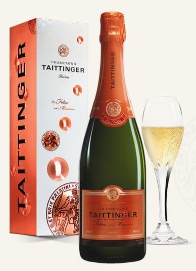 bouteille de champagne taittinger