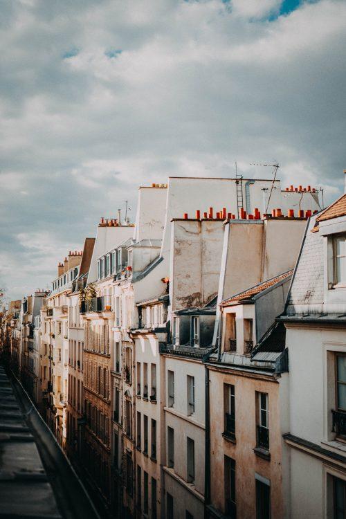 Façace immeuble et appartement à Paris